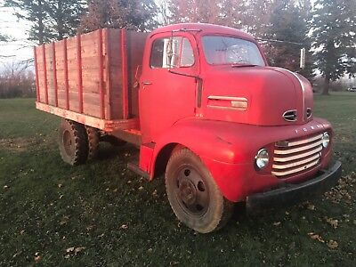 1949 Ford F6 Coe Cabover  Very Solid North Dakota Truck   No Reserve