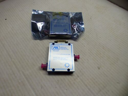 American Microwave Corporation AHG-1020DD Pin Diode Attenuator 1-2 Ghz