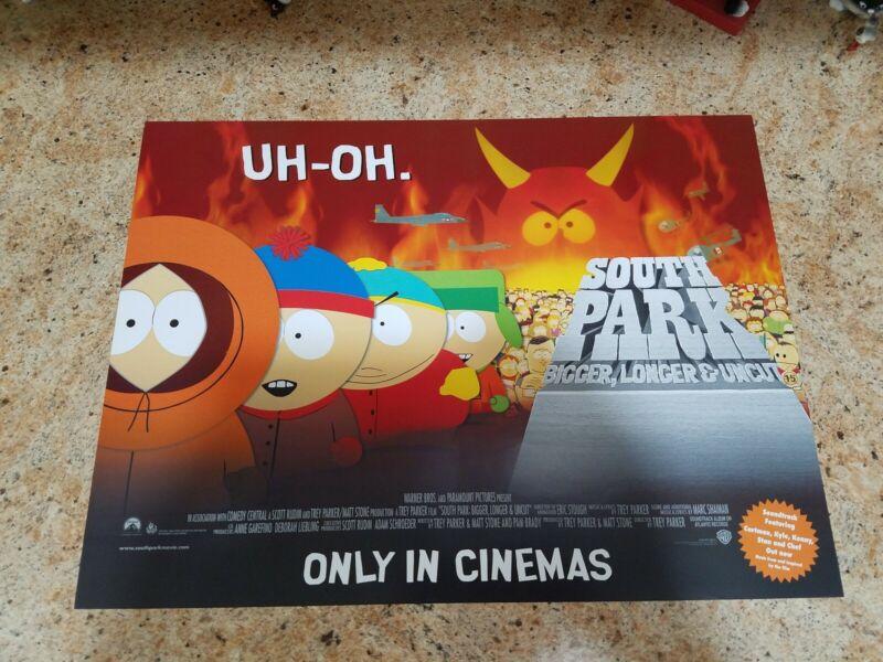 """South Park Bigger, Longer & Uncut movie poster  - 12"""" x 16"""""""