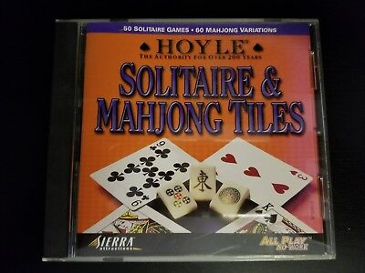 Hoyle Solitaire And Mahjong Tiles  Windows Mac  1999