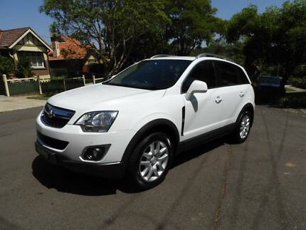 2013 Holden Captiva SUV LT TURBO DIESEL WONT LAST MUST SEE Homebush West Strathfield Area Preview