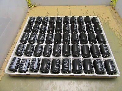 Flat Of 50x 12000uf 63v Nichicon Audio Electrolytic Capacitor Filter Lq 4q-18