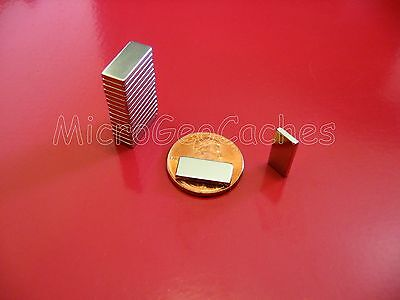 50 Neodymium Block Magnets 12 X 14 X 116 Super Strong Rare Earth Magnet