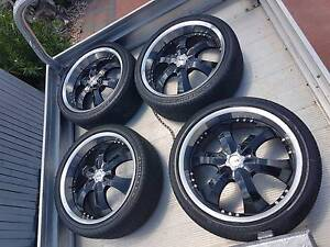 22inch Wheels and tires Mount Cotton Redland Area Preview