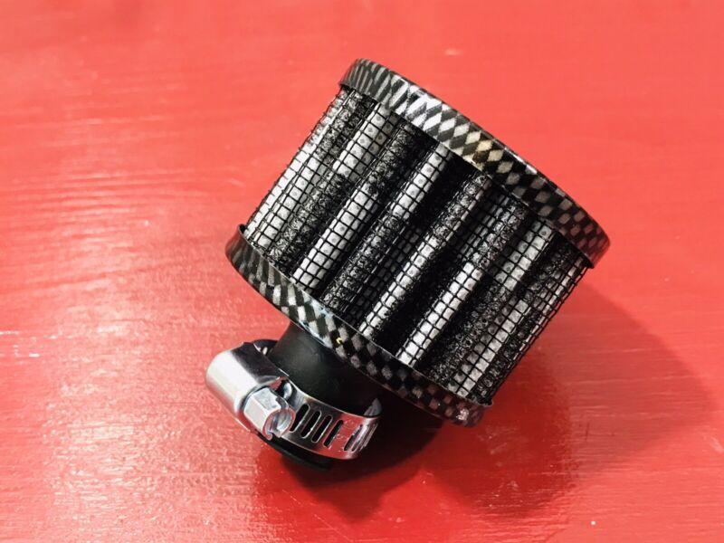 RC Metal Nitro Air Filter Carbon Style  Fits SAVAGE X , SS, & TRAXXAS