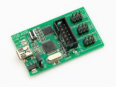 Usb Avrisp Mkii Programmer Atmel Studio 7 Avr Isp Pdi Tpi Xmega Mk2