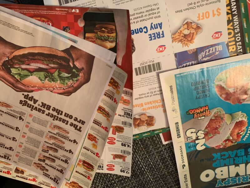Variety restaurant coupons