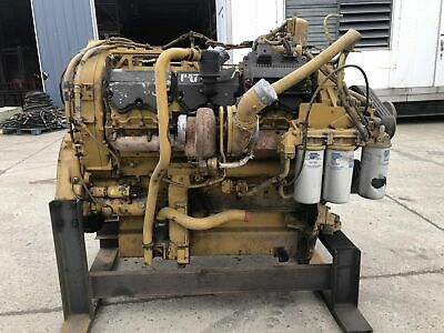 C32 Cat Engine Good Running Takeout Of 777f Cat Haul Truck