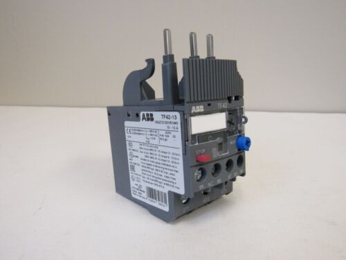 NEW ABB TF42-13 THERMAL OVERLOAD RELAY 10-13 AMP MULTI-PHASE NIB