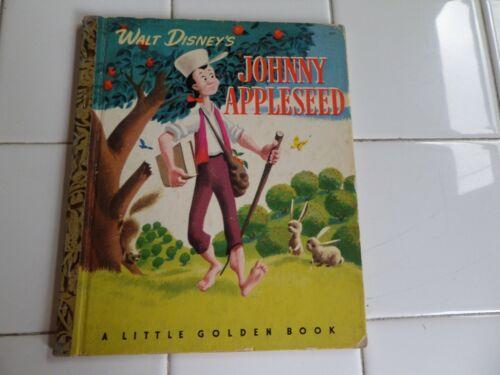 Johnny Appleseed, A Little Golden Book,1948(VINTAGE WALT DISNEY; Children