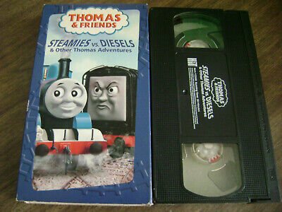 Thomas the Tank Engine Steamies vs. Diesels Other Thomas Adventures (VHS, 2004
