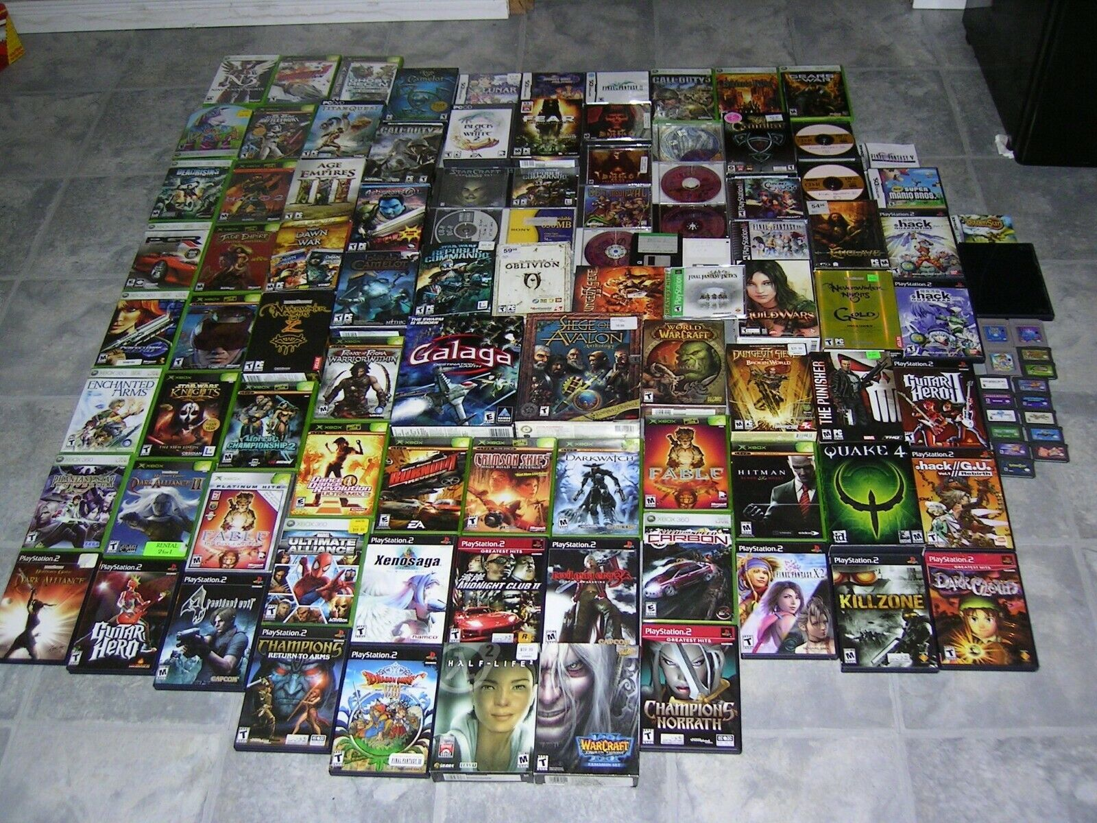 Computer Games - Computer PC Video Game Lot Bundle Pick & Choose Some with Custom Covers Used