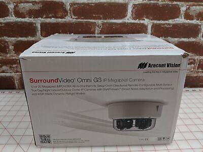 New Arecont Av12176dn-28 Omni G3 12-20mp Poe Surroundvideo Camera