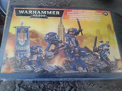 WARHAMMER 40K SPACE MARINE COMMAND SQUAD - NEW & SEALED
