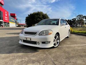2002 Toyota Mark II iR-V Grande Edition White JZX110 Auto Sedan Thomastown Whittlesea Area Preview