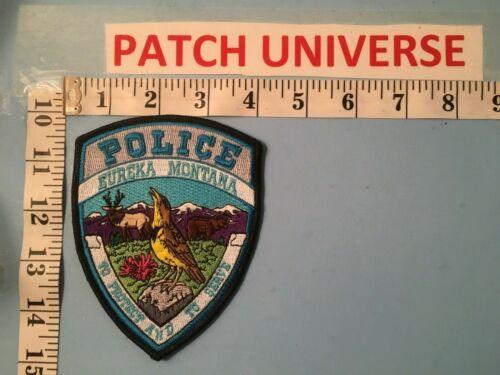 EUREKA  MONTANA  POLICE  SHOULDER  PATCH   L124