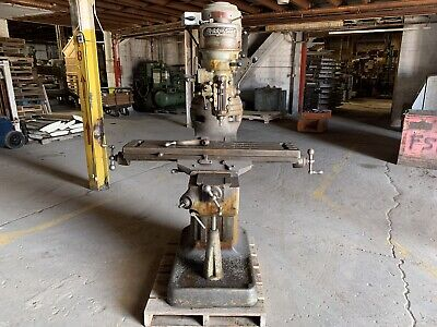 Bridgeport Milling Machine 9 X 42 Table Tooling