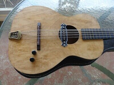 "Chris Mandocello - Acoustic Electric Conversion - 24"" Scale w Period Case"