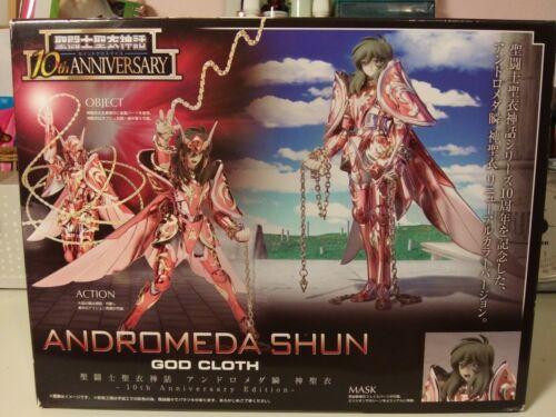NEW ANDROMEDA SHUN GOD CLOTH - Saint Seiya Saint Myth 10th Anniversary Figure
