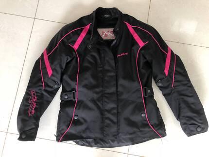 Woman's Medium RJAYS Motorcycle Jacket - As new