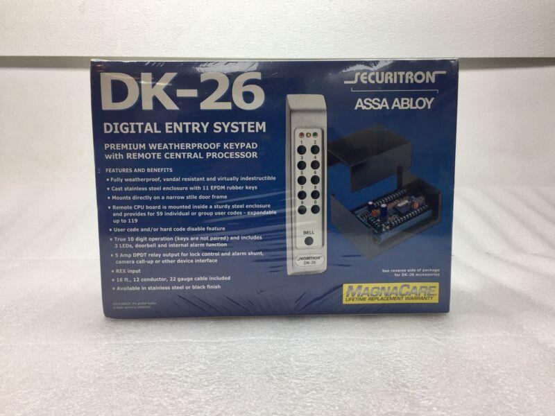NEW Securiton Assa Abloy DK-26 Digital Entry System Premium Keypad w.Remote NIB