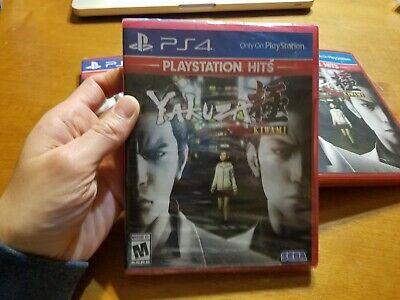 PS4 Playstation 4 Hits Yakuza Kiwami BRAND NEW FACTORY SEALED