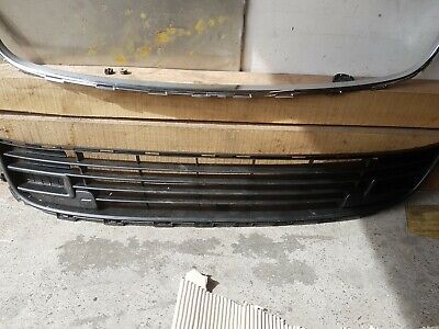 2004-2008 Citroen C5 Front Lower Centre Bumper Grille Insurance Approved New