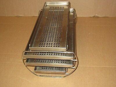 Pelton Crane Validator 8 Autoclave Trays Rack Sterilizer