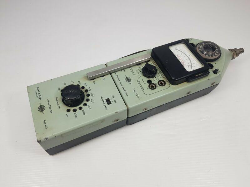 Bruel& Kjaer 2209 Pulse Precision sound level meter 1613 Octave filter