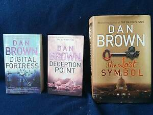 Three great Dan Brown books! South Melbourne Port Phillip Preview