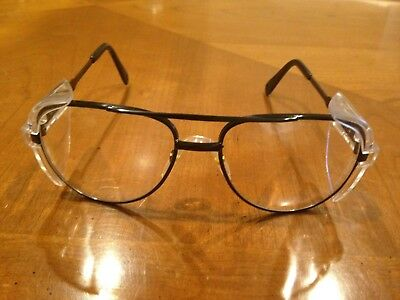 Hudson Design Wear Polycarbonate Lens Industry Safety Glasses Clear Lot Of 6