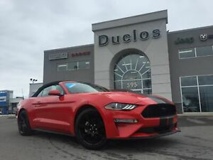 2018 Ford Mustang EcoBoost*CAMÉRA*CUIR CHAUFF*GPS*MAGS*