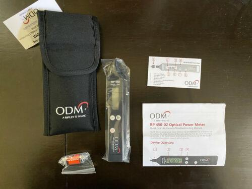 ODM RP 450-02 SM MM Fiber Optic Power Meter RP450 Brand New