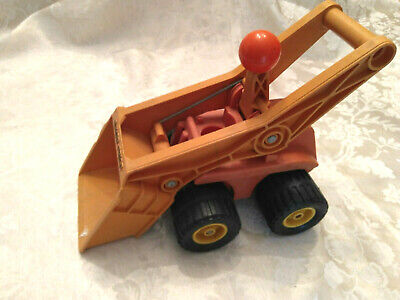 Fisher Price Little People Vintage 1970s Scoop Loader Construction Truck #300