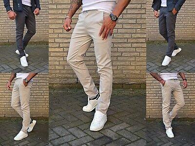 Modern Fit-hose ( Herren Stoff Basic Business Fashion Chino Mode Hochzeit Fein Skinny Fit Hose )