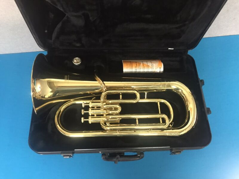 Yamaha YEP-201 Euphonium w/ Case & Mouthpiece - Ready To Play!