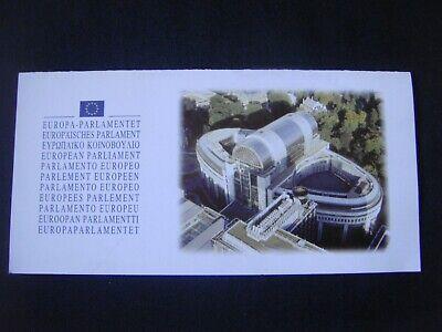 Double carte publicitaire (21 cm x 11 cm) Parlement européen BRUXELLES Brussel