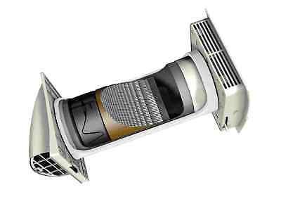 Marley Frischluft-Wärmetauscher Wärmerückgewinnung 16/25/37 m³/h Lüftungsgerät - Luft-wärmetauscher