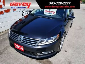 2014 Volkswagen CC Sportline BACK UP CAMERA, POWER SUNROOF, H...