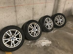 235/55/17 BMW X3 Rims and Michelin Tires $500