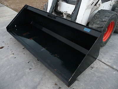 Bobcat Skid Steer Attachment - 84 Hd Low Profile Smooth Bucket - Ship 199
