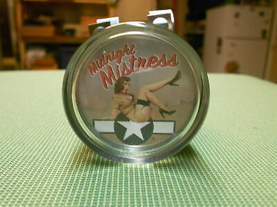 Midnight Mistress pinup steering wheel spinner pinup suicide knob pinup brodie
