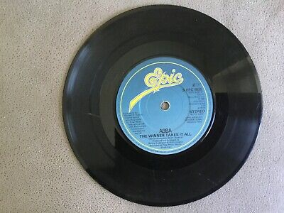Abba. The winner takes it all. 1980. 45rpm Vinyl Single Record