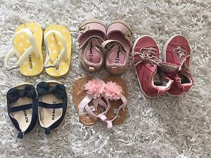 Girls shoes - $5 per pair or $25 for all 6