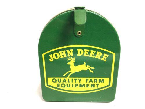 Vtg John Deere Piggy Bank Toy Mailbox