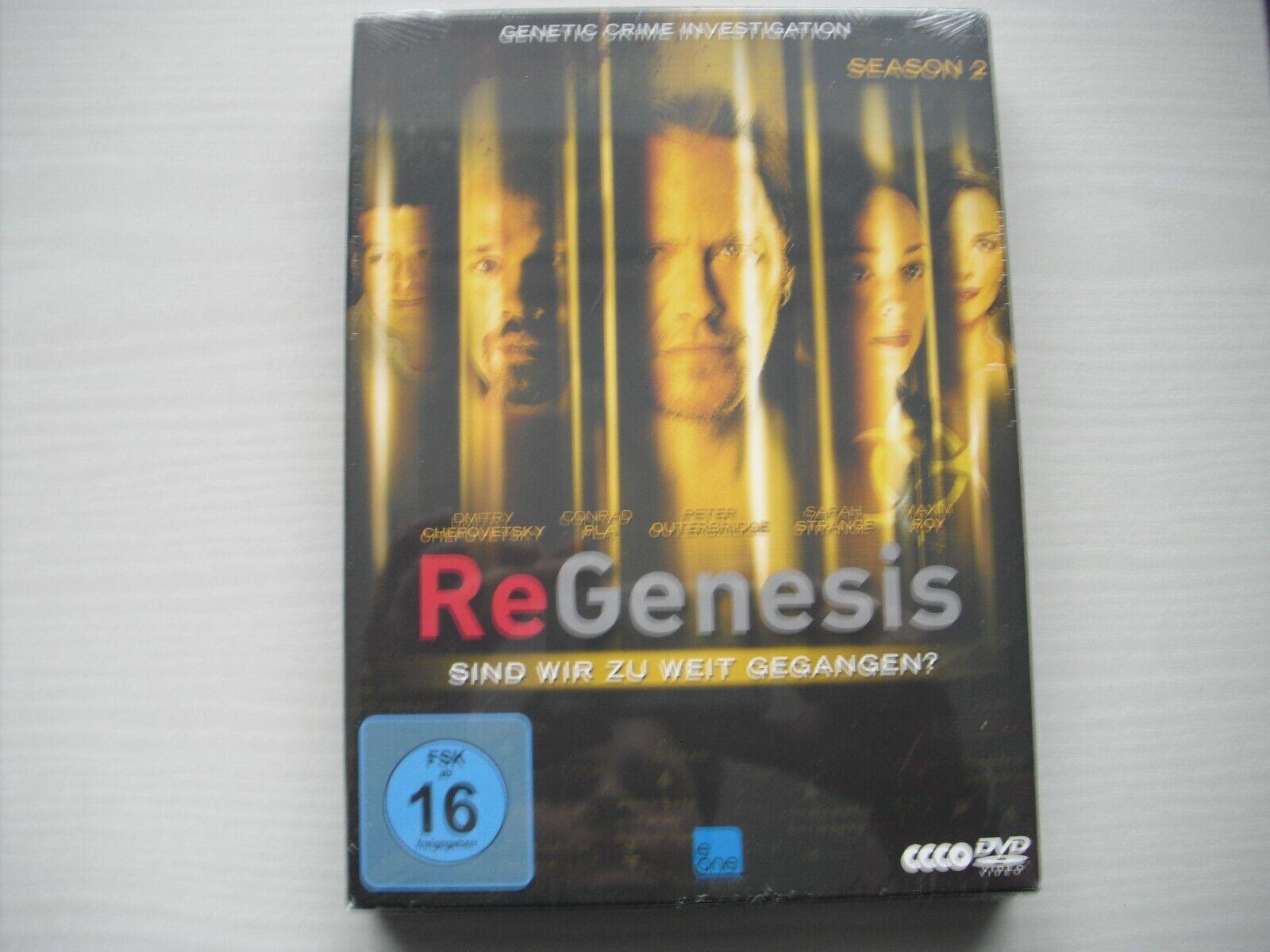 ReGenesis - Staffel 2 auf 4 DVD's