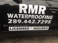 Wet Basement Waterproofing $100 per linear Foot!