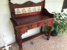 Beautiful Timber Sidetable Cardiff Lake Macquarie Area Preview