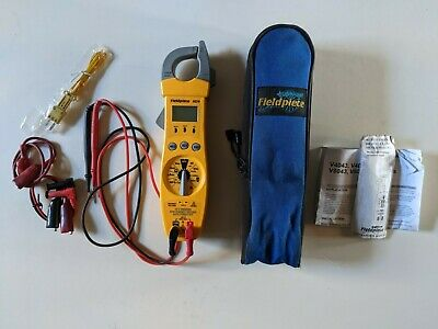 Fieldpiece Sc76 Digital Clamp Meter Wleads Case Hvac Temp And Capacitance