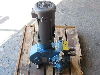 Milton Roy Stainless Controlled Volume Pump W Baldor Dc Motor Rebuilt